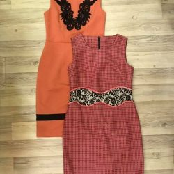 [Que Sera] These lovely coral peach dresses are now $50 each!