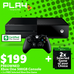 [GAME XTREME] Preowned Xbox One Bundle【PROMO DURATION】 While Stocks Last!