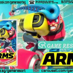 [GAME RESORT] NSW Arms,Choose a fighting champion from around the world, equip your own combination of extendable arms, and then use