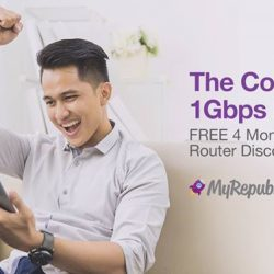 [Mr Shop/My Republic] Get the smoothest fibre broadband connection at the best value with our Complete 1Gbps bundle!