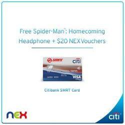 [Citibank ATM] Swing into action at NEX with Spider-ManTM: Homecoming this school holiday!