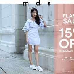 [MDS Collections] FLASH SALE | Take 15% off regular priced items with code FLASHY.