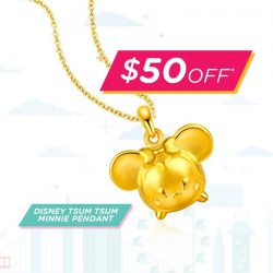 [SK Jewellery] Stack, Collect & Wear your favourite Disney Tsum Tsum characters!