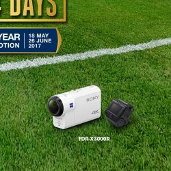 [Sony Singapore] It's the final lap for SonyDays2017 Mid-Year promotions*!
