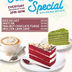 [MOF @ MY IZAKAYA & AMASOY] New weekday tea time special at Mof My Izakaya Hillion mall.