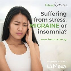 [Frenzo Spa & Wellness] Having too much stress that caused Migraine and Insomnia?