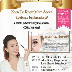 [Allure Beauty Saloon] Our Roadshow will still be ongoing at Tampines One Level 1 Indoor Event Atrium Space from now till 22 June