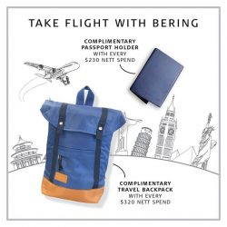 [BERING] Travel the world with BERING.