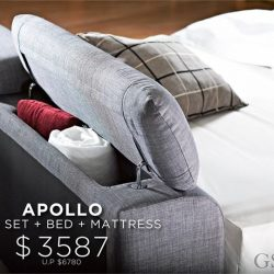 [Cellini] Don't miss this Apollo Sofa, Bed & Mattress deal.