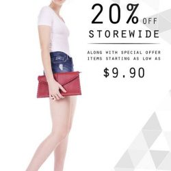 [Compass One] Enjoy 20% off storewide at D&C roadshow at Compass One Level 2 atrium from 26 Jun to 2 july!