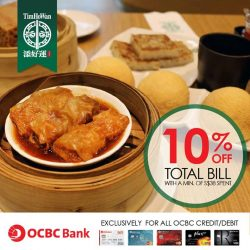 [Tim Ho Wan] OCBC Bank card members rejoice!