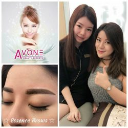 [AVONE BEAUTY SECRETS] GORGEOUS Fidelis is very pleased with her brows beautifully redefined with our ABS Korean Essence Brows Embroidery!
