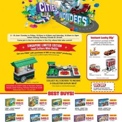 [Isetan] Join us at the LEGO® Cities of Wonders Event at Isetan Katong, Parkway Parade B1 airwell, with lots of fun