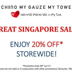 [Uchino] The all-time favourites Great Singapore Sale is here!