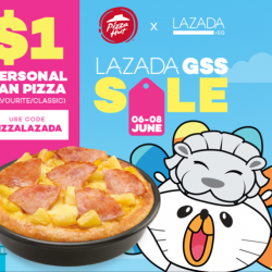 [Pizza Hut Singapore] Here's a Pizza Hut Delivery online exclusive that you don't want to miss 🙌Get a Personal Pan Pizza