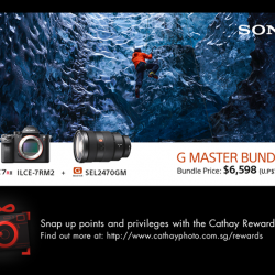 [Cathay Photo] If you have been eyeing the Sony A7R II, waiting for the perfect moment to own it, the time is