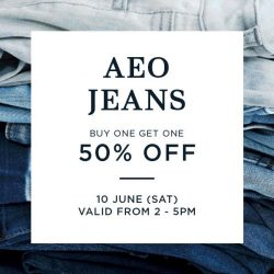 [American Eagle Outfitters] It's the last 4 days at our pop up store at VivoCity!