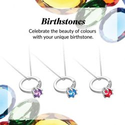 [CITIGEMS] Express your love for fun with our Alluring Birthstone Pendants and add a pop of colour to brighten your outfit!