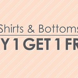 [Bossini Singapore] For a limited period, buy 1 get 1 free selected shirts and bottoms for Men & Ladies.