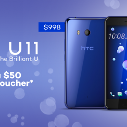[Lazada Singapore] The HTC U11 gives you the squeeze for the brilliant U!