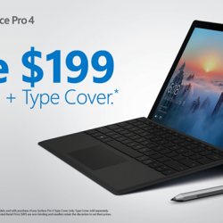 [Newstead Technologies] From now till 30 June, save $199 on Surface Pro 4 with Type Cover!