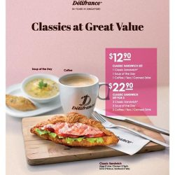 [Delifrance Singapore] Get our Classics at great value this June!