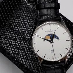 [Claude Bernard] Claude Bernard's Swiss-trained, in-house watch technician with over 30 years of experience will be conducting live watch