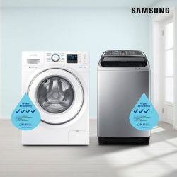 [Samsung Singapore] The right washing machine can make a difference in your monthly water bills.