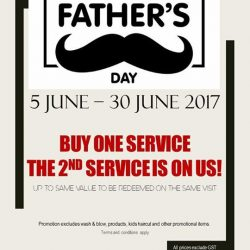 [NK Hairworks] Sunday is Father's Day!
