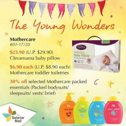 [The Seletar Mall] Calling all mothers and mums-to-be!