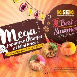 [Kiseki Japanese Buffet Restaurant] A dizzying range of creative buffet items at great prices!