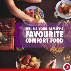[OCBC ATM] We all have our favourite comfort food and it's always better enjoyed with family.