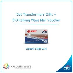 [Citibank ATM] Shop and dine at Kallang Wave Mall this GSS.