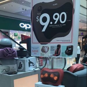 [BHG Singapore] Check out exclusive deals from Ogawa  at BHG Atrium, NOW on at Suntec City East Atrium (Tower 3) till this