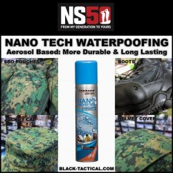 [Black-Tactical.com] NANO Waterproof All your Stuff so you No need Clean so Much!