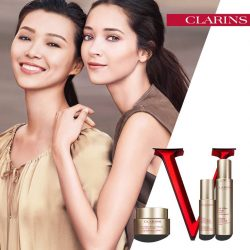 [Clarins] The easiest way to get that perfect 'V' face!