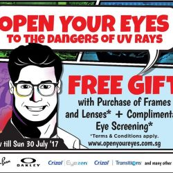 [Capitol Optical] Open your eyes to the dangers of UV rays.