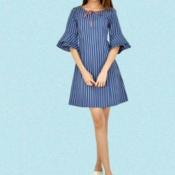 [MOONRIVER] Amy Bell Sleeves Dress - The world is your runway, dress for it.