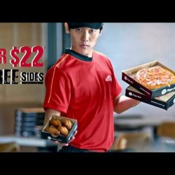 [Pizza Hut Singapore] You might've seen him around on his duties.