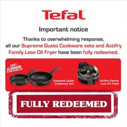 [Tefal] Thank you for your support!
