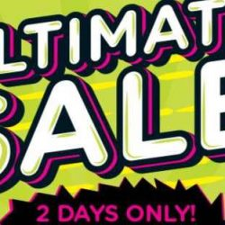 Watsons: 2 Days Ultimate Sale With Up to 66% OFF + Buy 1 Get 1 FREE Deals!