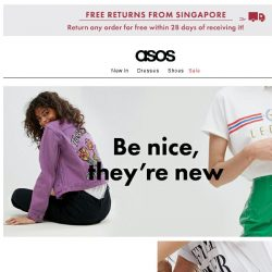 [ASOS] Just in (clothes, not Bieber)