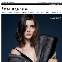 [Bloomingdales] Bring in Your Old Fur to Create a New Look & Take 20% Off
