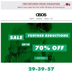 [ASOS] Last chance – up to 70% off sale