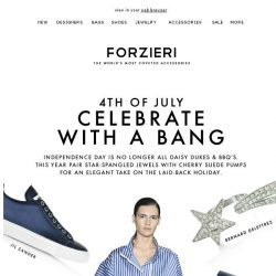 [Forzieri] Independence Statements // Red, White and BOOM