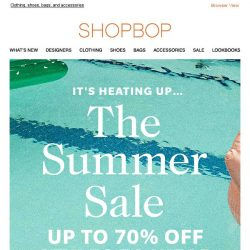 [Shopbop] Summer SALE is heating up