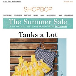 [Shopbop] Your go-to summer top