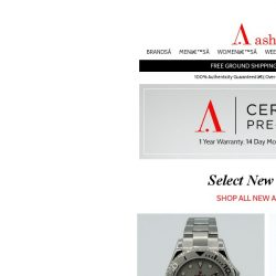[Ashford] Certified Pre-Owned Watches - Amazing New Arrivals!