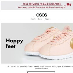 [ASOS] Living your best (shoe) life