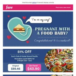 [Fave] Food baby alert: Delicious deals you can't miss!